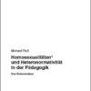 Homosexualitäten* und Heteronormativität in der Pädagogik   Schwule Bücher im OnlineShop Gay Book Fair